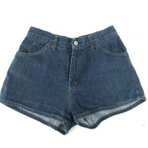 Levi's vtg 70s Gals Womens Hi Waisted Shorts XS 26